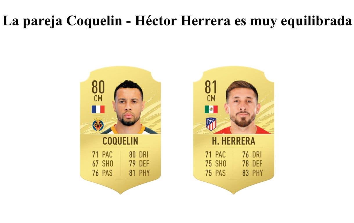 Coquelin y Héctor Herrera FIFA 21 Ultimate Team