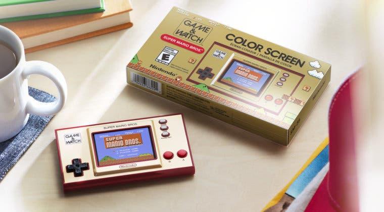 Imagen de Game & Watch Super Mario Bros: un objeto para coleccionistas indispensable en tu estantería