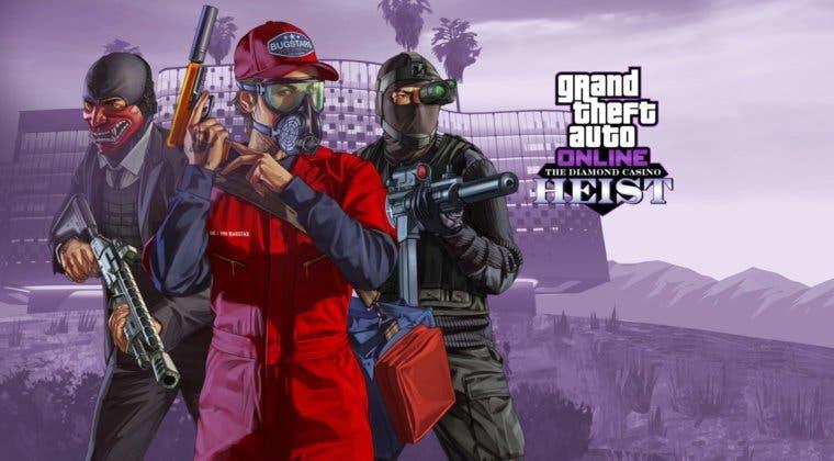 Imagen de Un bug de GTA Online impide recibir las recompensas del golpe al casino Diamond