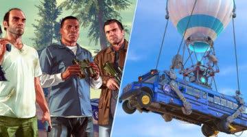 Imagen de Un mod de GTA Online convierte a los jugadores en un Battle Bus de Fortnite