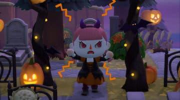 Imagen de Animal Crossing: New Horizons presenta y fecha su actualización de Halloween (otoño)