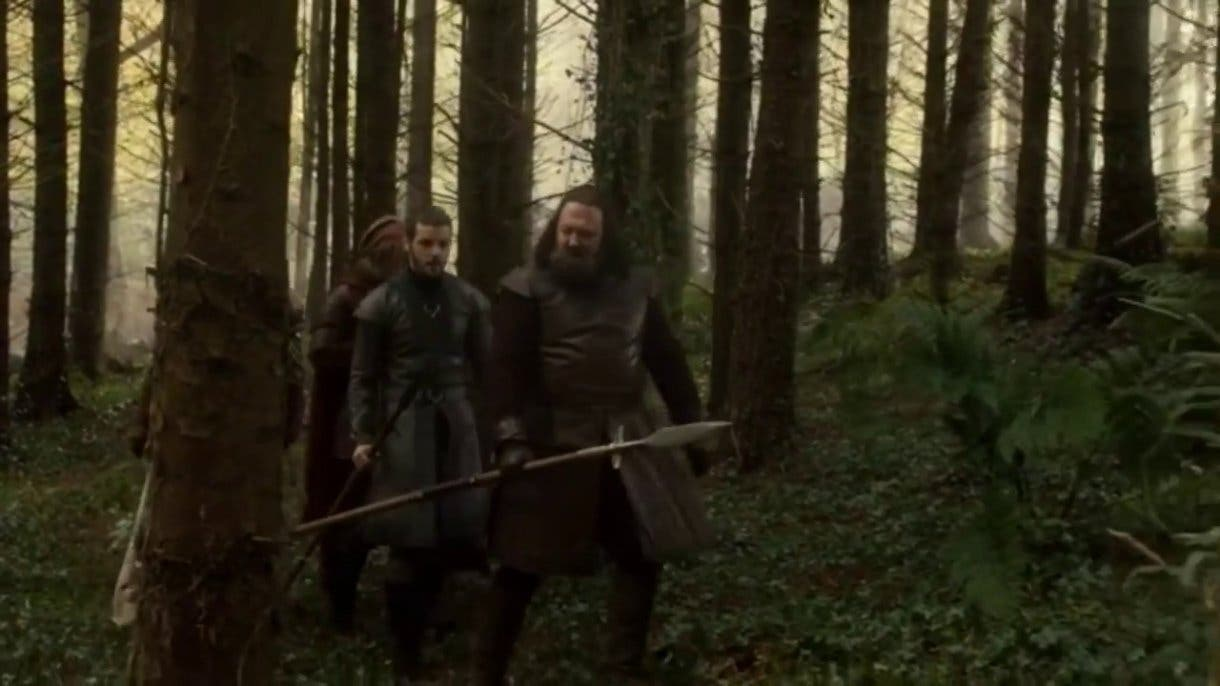 La escena de juego de tronos en la que Robert se va de caza no gustó al escritor