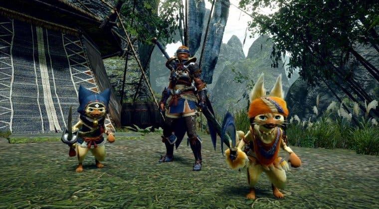 Imagen de Monster Hunter Rise nos presenta a los ayudantes de caza en un pequeño clip