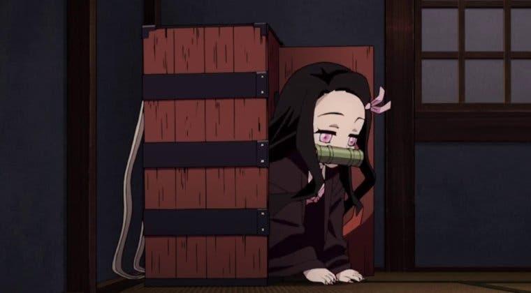 Imagen de Así es la caja de Nezuko (Kimetsu no Yaiba) que se regala en un concurso