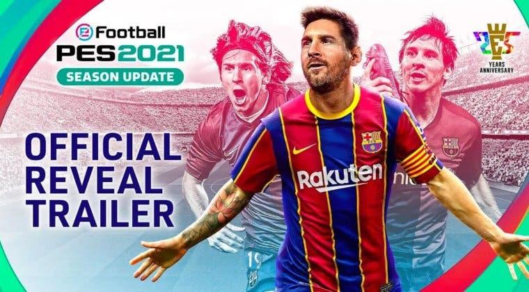 Imagen de La portada de eFootBall PES 2021 no peligra, Messi se queda en el Barça
