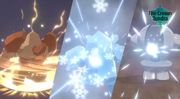 Imagen de Pokémon Espada y Escudo muestra Pokémon y regiones de Las Nieves de la Corona, su segundo DLC