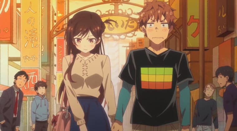Imagen de El anime de Rent-a-Girlfriend confirma su segunda temporada