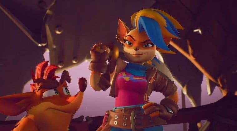 Imagen de Crash Bandicoot 4: It's About Time confirma a Tawna con un nuevo y extenso gameplay