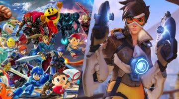 Imagen de Super Smash Bros. Ultimate: Tracer, de Overwatch, podría ser el siguiente luchador DLC