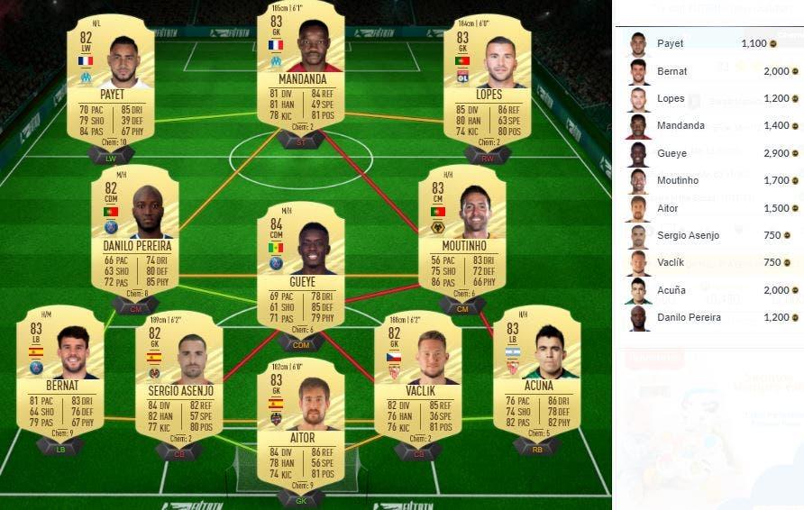 FIFA 21 Ultimate Team Blaise Matuidi OTW SBC
