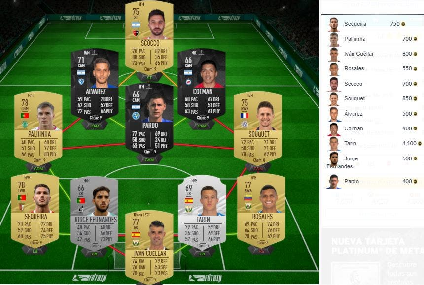 FIFA 21 Ultimate Team SBC Goleador en Múnich