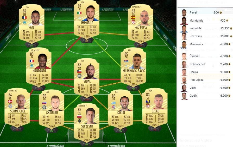 FIFA 21 Ultimate Team Iñaki Williams Rulebreakers SBC