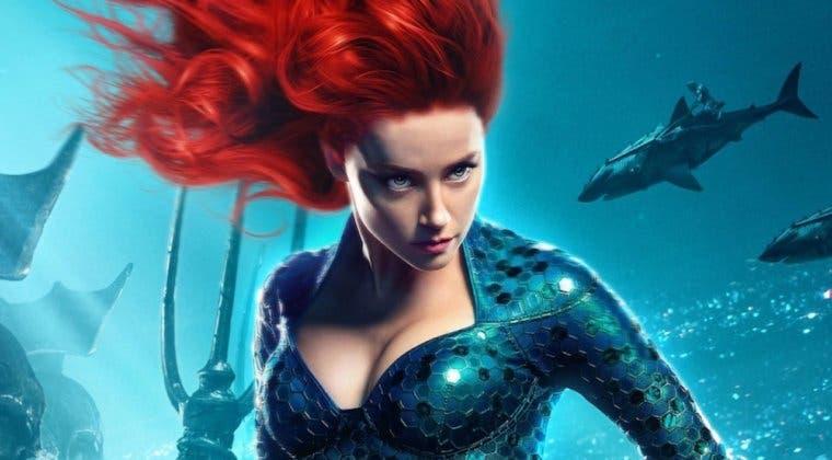 Imagen de Patrick Wilson y Amber Heard ya se preparan para Aquaman 2