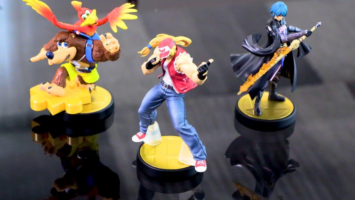 Amiibo Super Smash Bros Ultimate Banjo-Kazooie Byleth Terry