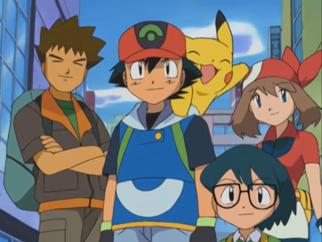 Anime de Pokémon Ash Aura Max Brock