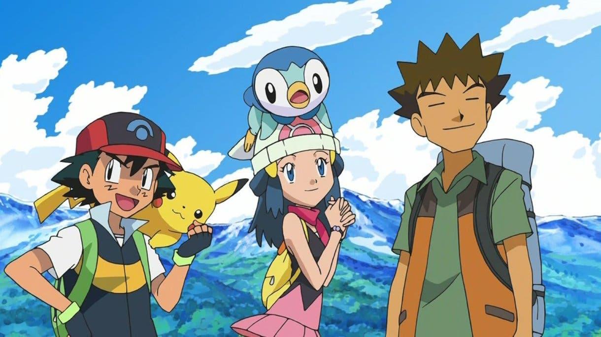 Anime de Pokémon Ash Maya y Brock