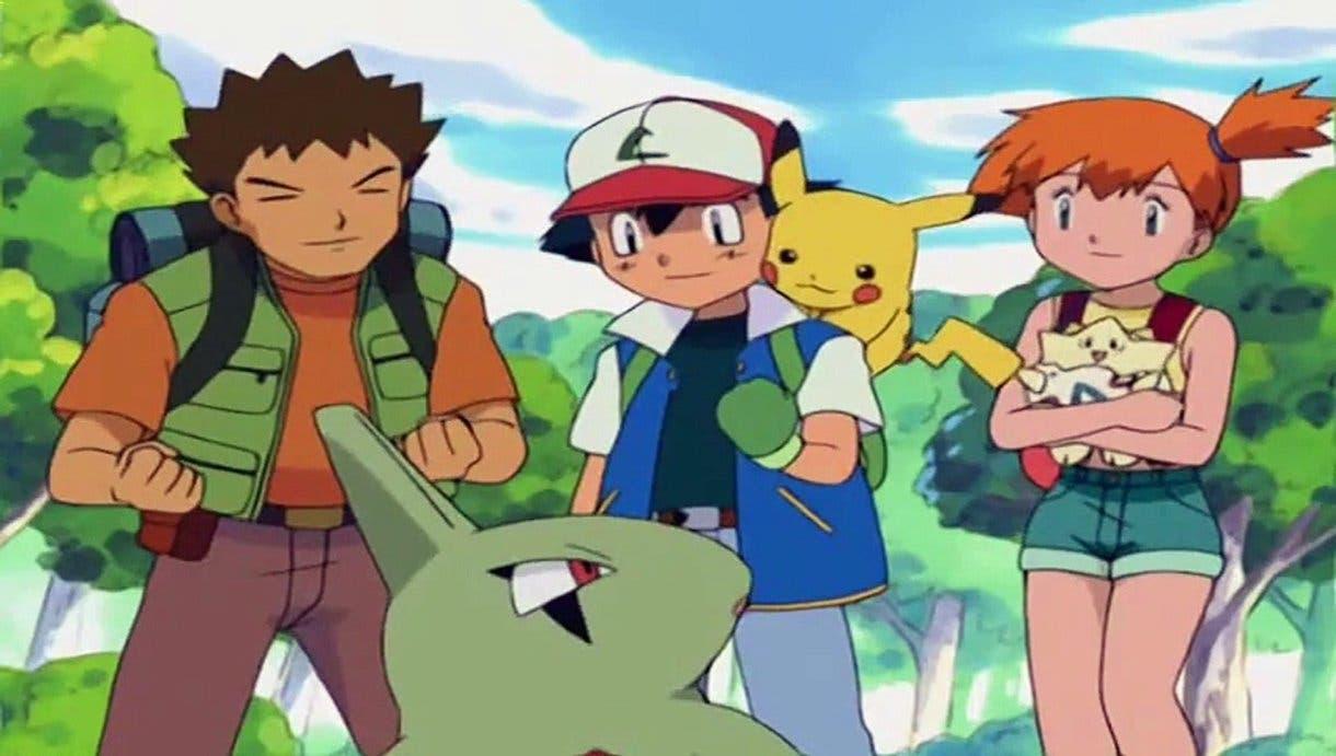 Anime de Pokémon Larvitar