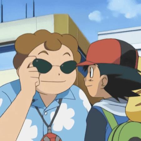 Ash y Treto anime de Pokémon