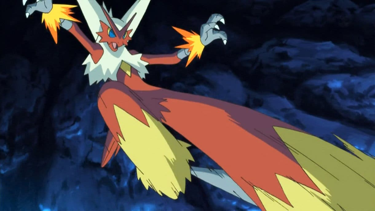 Blaziken Pokémon inicial