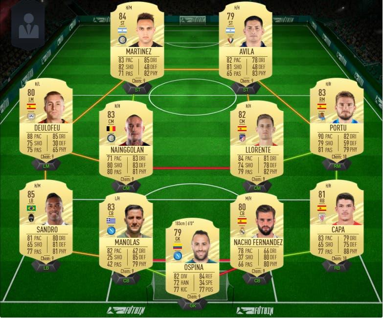 FIFA 21 Ultimate Team equipo barato FUT Champions