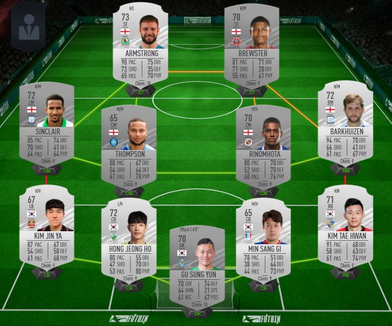 FIFA 21 Ultimate Team equipo plata 1