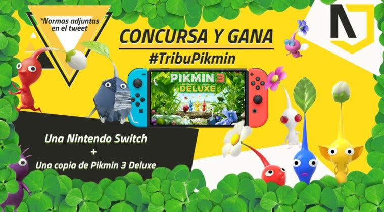 Imagen de Consigue una Nintendo Switch + una copia de Pikmin 3 Deluxe con este sorteo