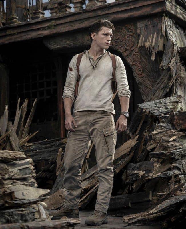 Así lucirá Tom Holland como Nathan Drake en Uncharted