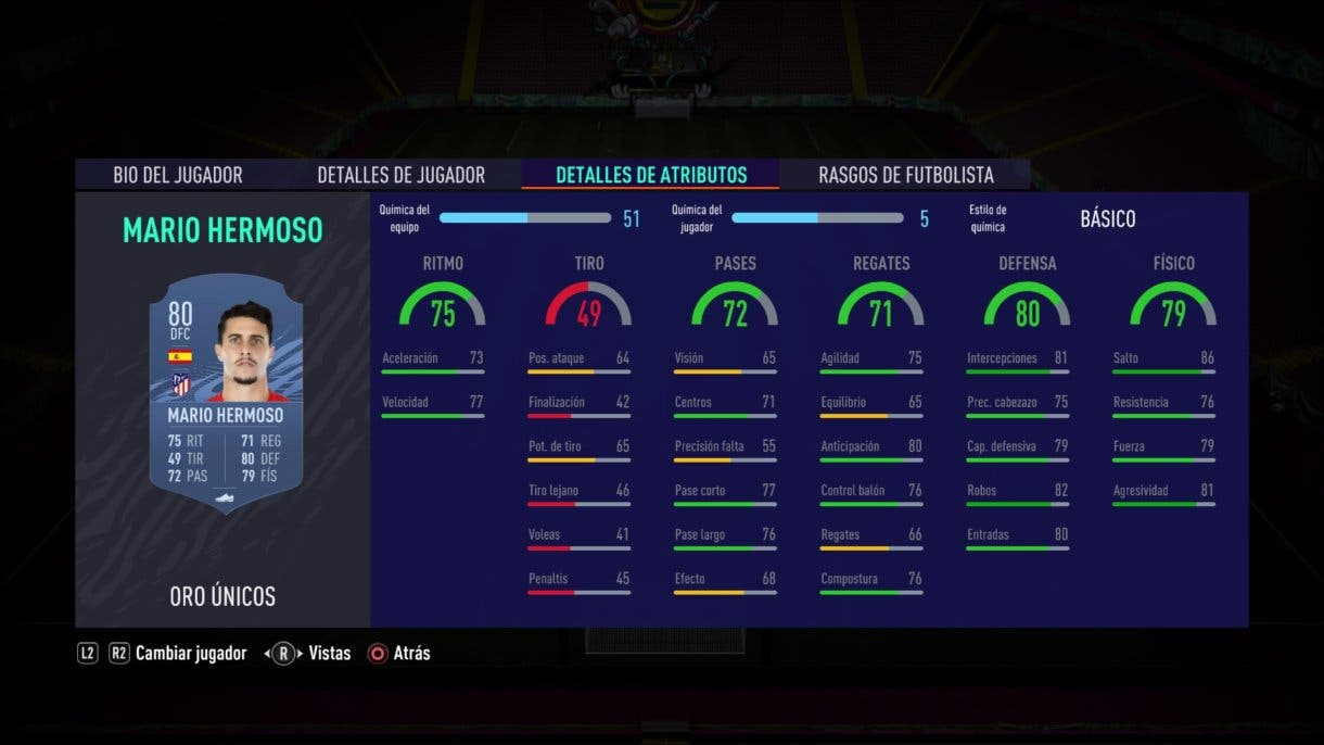 Mario Hermoso FIFA 21 Ultimate Team