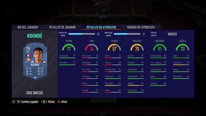 Koundé FIFA 21 Ultimate Team