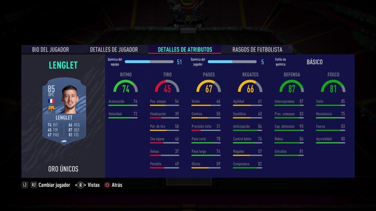 Lenglet FIFA 21 Ultimate Team