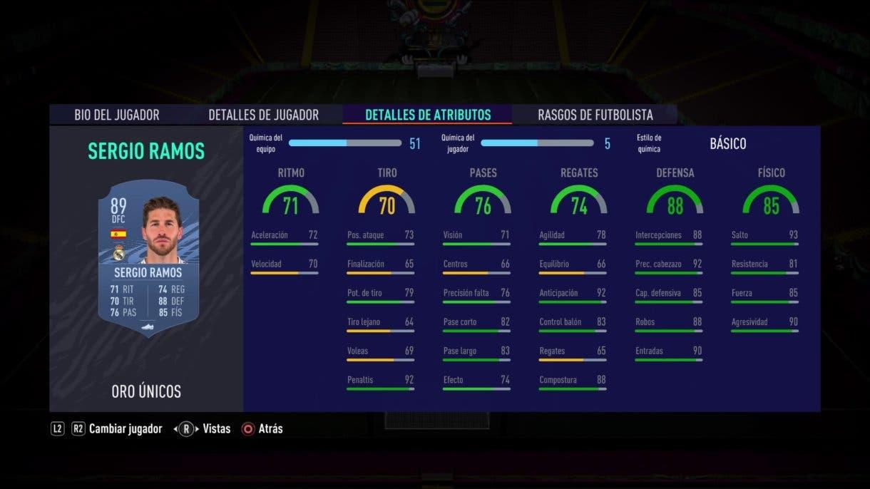 Sergio Ramos FIFA 21 Ultimate Team
