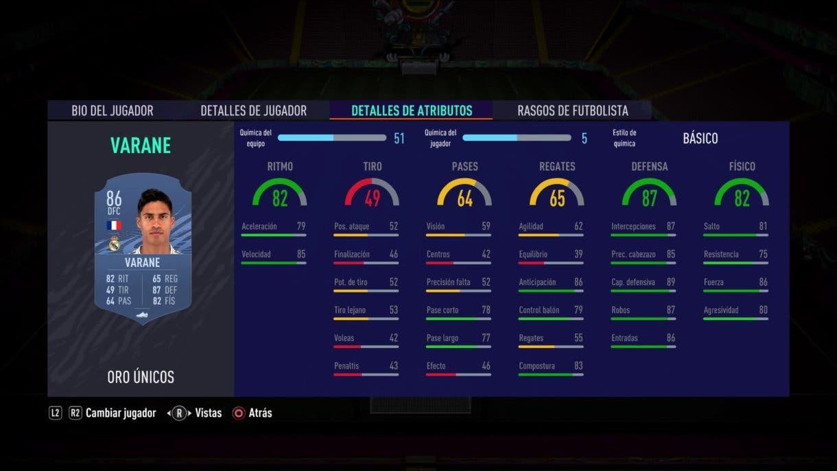 Varane FIFA 21 Ultimate Team