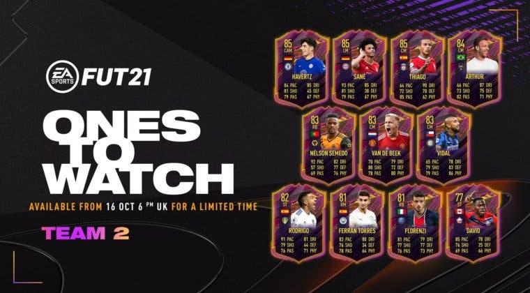 Imagen de FIFA 21: desvelado el segundo equipo de Ones to Watch, aunque aún no estará disponible en Ultimate Team