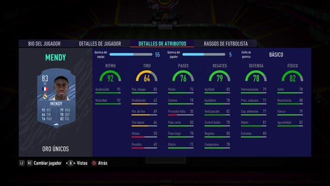 FIFA 21 Ultimate Team Ferland Mendy