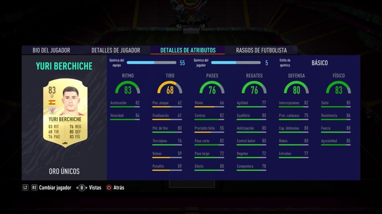 FIFA 21 Ultimate Team Yuri Berchiche