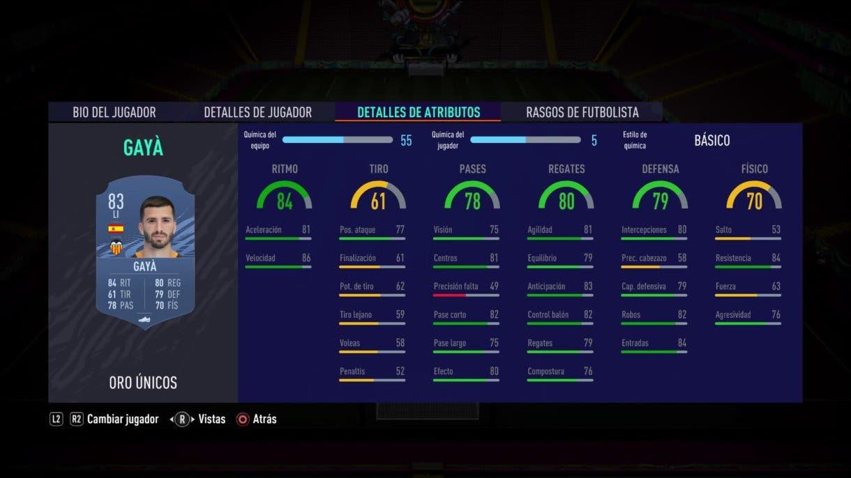 FIFA 21 Ultimate Team José Luis Gayá