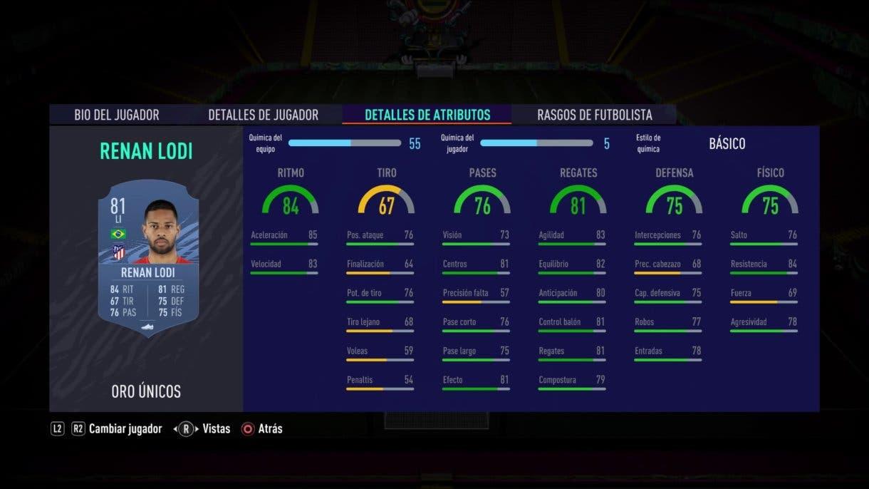 FIFA 21 Ultimate Team Renan Lodi