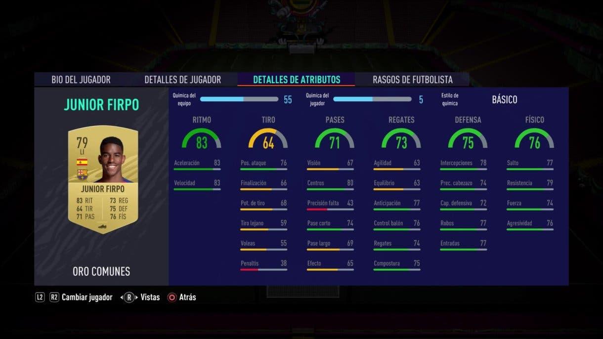 FIFA 21 Ultimate Team Junior Firpoe