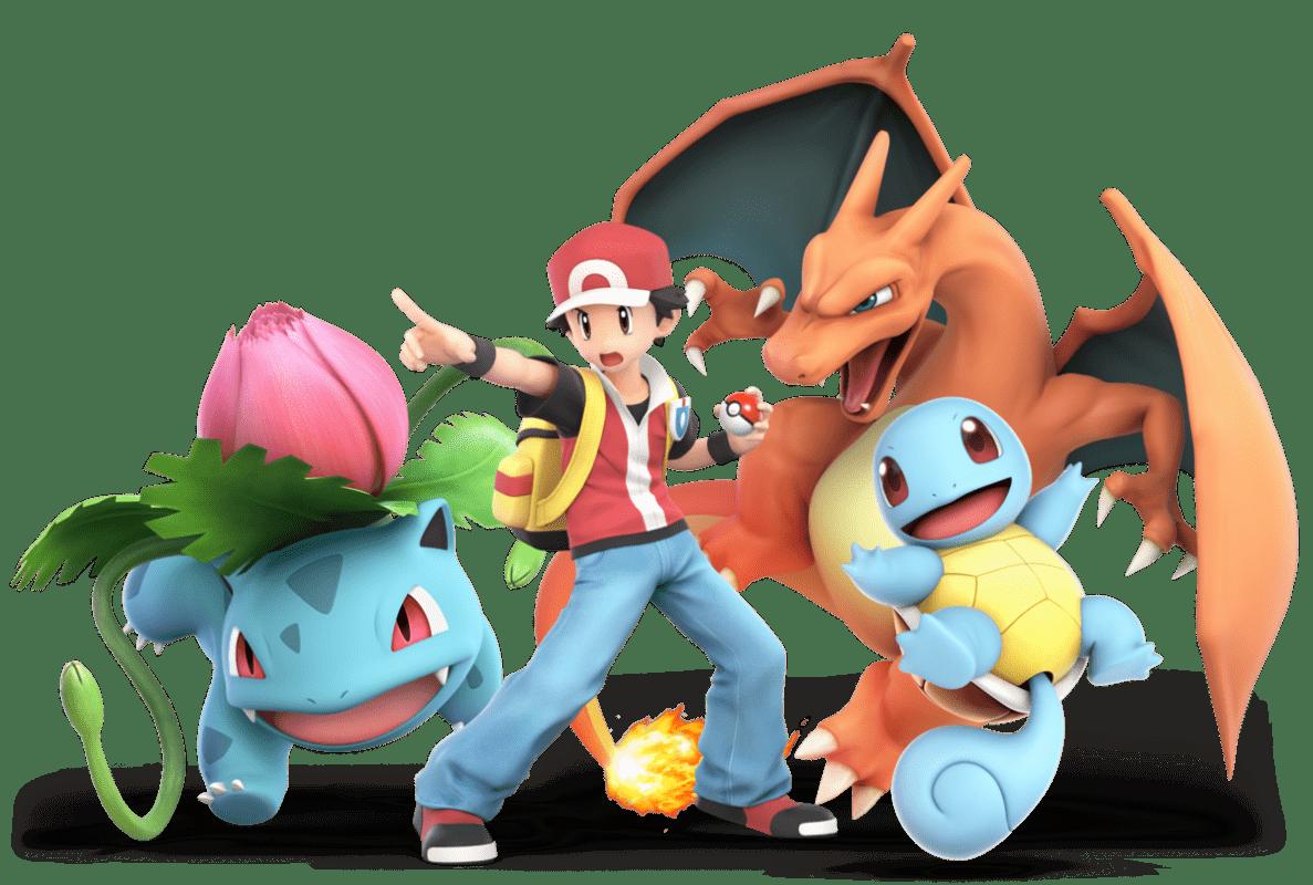 Entrenador Pokémon Super Smash Bros Ultimate