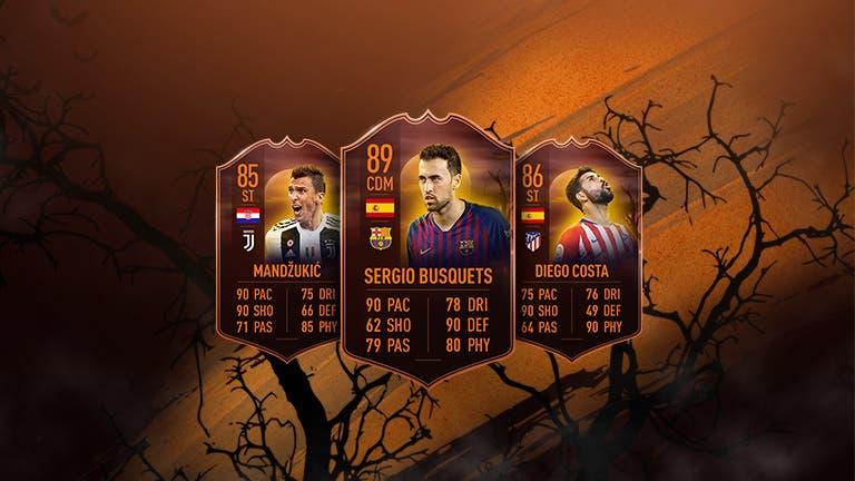 FIFA 19 Ultimate Team ejemplo Ultimate Scream