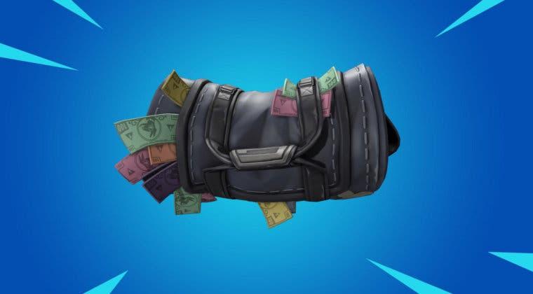 Imagen de Fortnite recibiría un nuevo objeto con forma de fajos de billetes para usar en las partidas