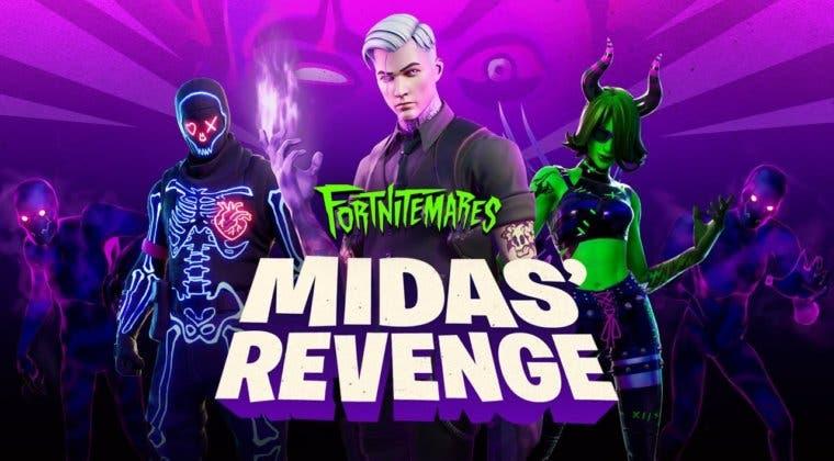 Imagen de Fortnite: todas las novedades de Fortnitemares: La Venganza de Midas, su nuevo evento de Halloween
