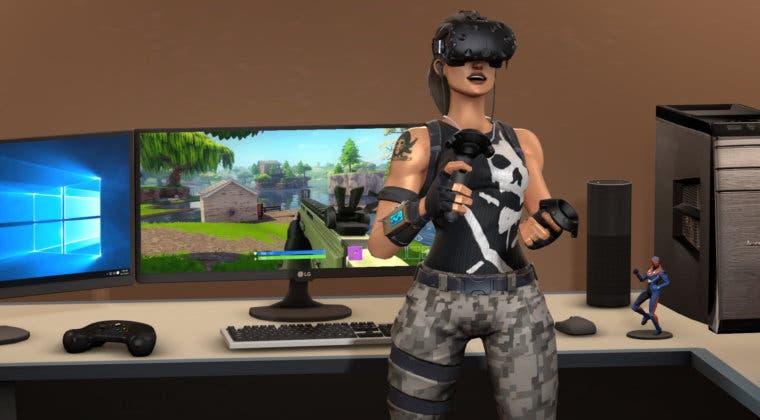 Imagen de Fortnite recibiría soporte para dispositivos de realidad virtual en el futuro, según nuevos datos