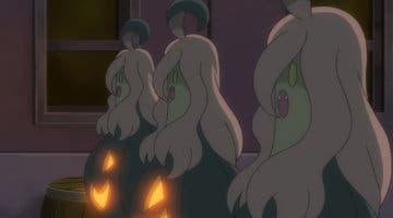 Imagen de Pokémon Espada y Escudo nos traen a Gourgeist shiny por Halloween
