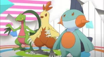Imagen de Elige al mejor Pokémon inicial: ¿Grovyle, Combusken o Marshtomp?