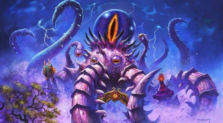 Imagen de Campos de batalla de Hearthstone se actualiza con nuevos héroes y hechizos