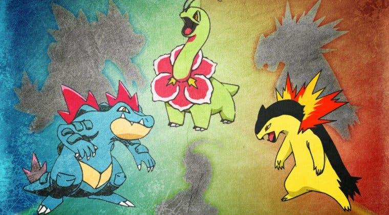 Imagen de Elige al mejor Pokémon inicial: ¿Meganium, Typhlosion o Feraligatr?