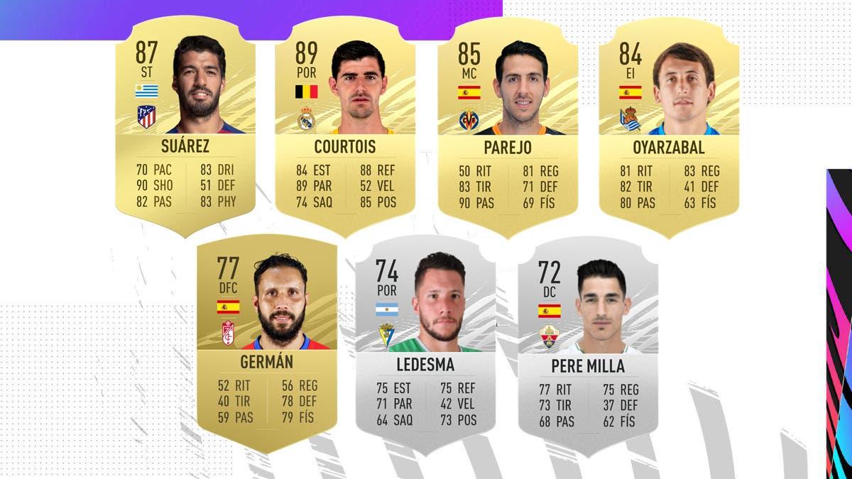 FIFA 21 Ultimate Team Nominados POTM octubre 2020 LaLiga Santander