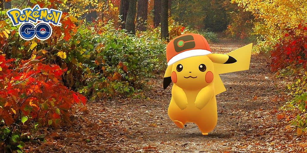 Pikachu Gorra Trotamundos Pokémon GO