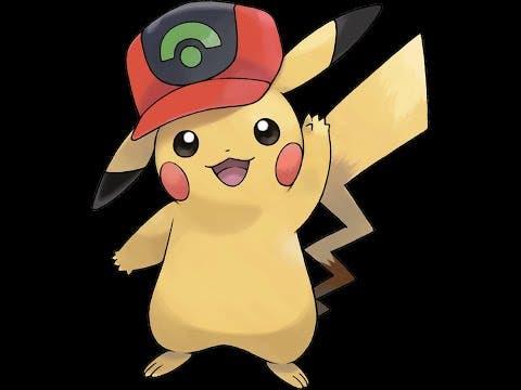 Pikachu con Gorra de Hoenn Pokémon Espada y Escudo